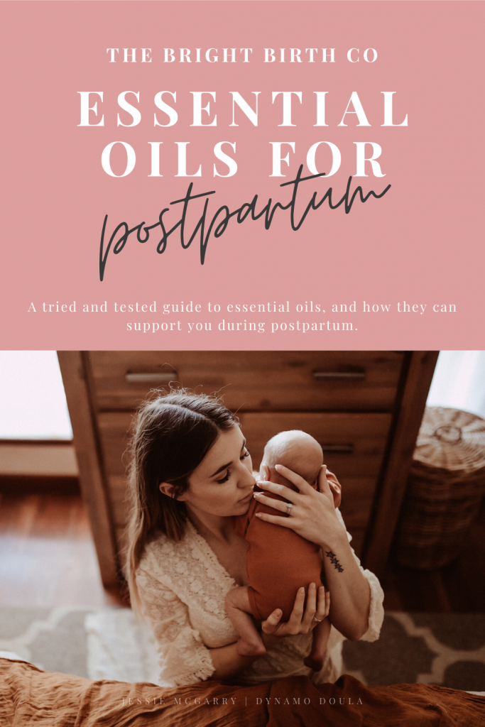 Essential oils for postpartum