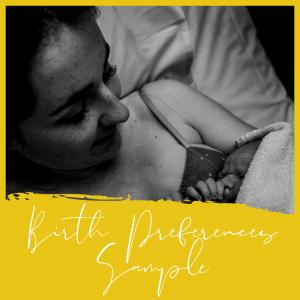 Birth Preferences Sample